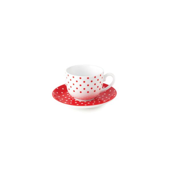 ۱۹ZR15609090-Zarin-Iran-Red-Spotty-12-Teaset